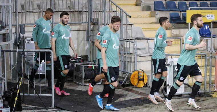 Schalke-spelers geschokt na bizarre nacht: We zijn gaan rennen uit pure angst