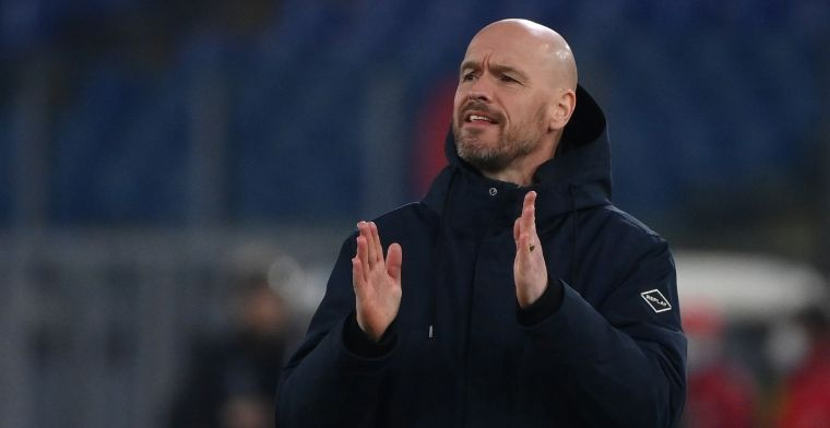 Ten Hag maakt z'n borst nat: 'Na Ajax en AZ de meeste punten'