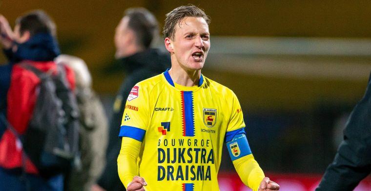 Cambuur gaat Eredivisie in met aanvoerder: 'Iedereen weet hoe groot zijn rol is'