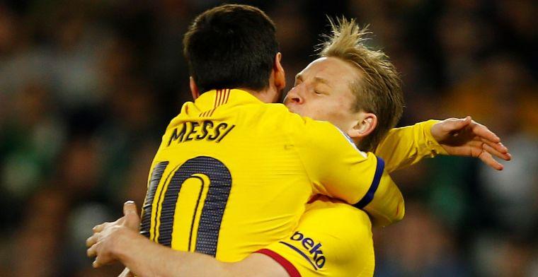 Koeman geniet van overleg Messi en De Jong: 'Hij zal het benadrukt hebben'