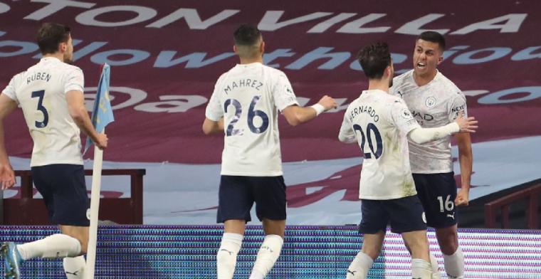 Manchester City zet belangrijke stap richting Premier League-titel