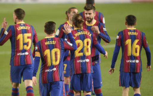 Afbeelding: FC Barcelona loopt in slotfase weg bij Getafe en blijft op titelkoers