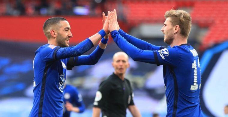 Chelsea-spelers zien opgeluchte Ziyech: 'Het is geweldig om te zien'