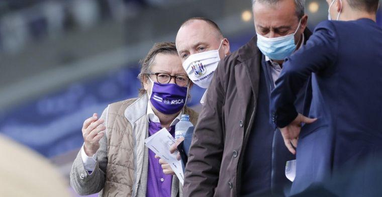 De reddingsboei van Coucke: Anderlecht is de club van zijn hart