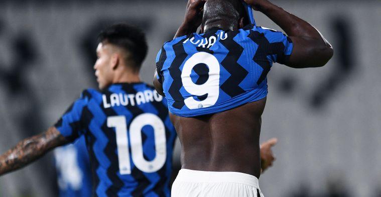 Italiaanse pers ziet Lukaku zeldzaam falen bij Inter: 'Gehypnotiseerd door goalie'