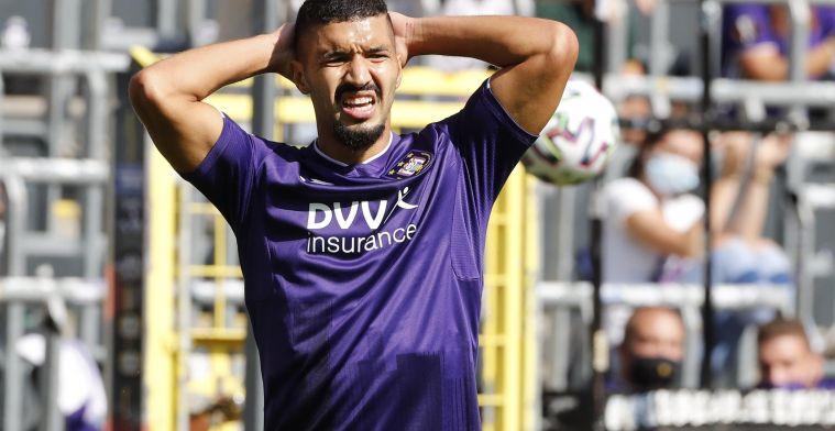 Anderlecht zoekt oplossing: 'Bakkali zal niet met A-kern meetrainen'