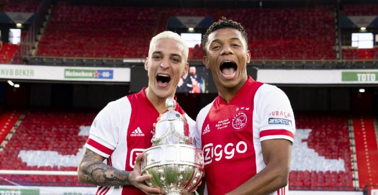 Ten Hag steunt Ajax-duo: 'Ze kunnen samenspelen, soms zijn ze concurrenten'