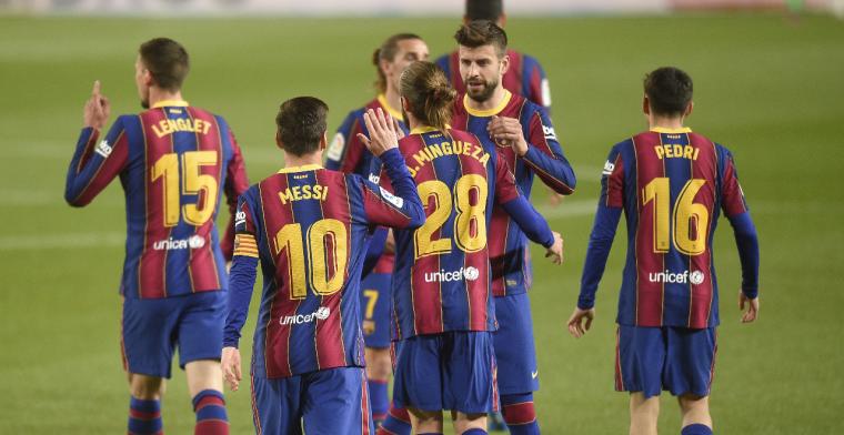 FC Barcelona loopt in slotfase weg bij Getafe en blijft op titelkoers