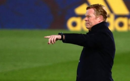 FC Barcelona en Koeman praten over contractverlenging
