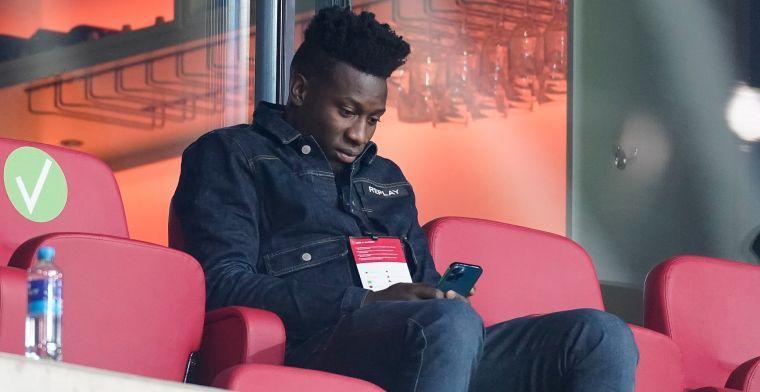 'Ajax wil Onana komende zomer verkopen ondanks dopingschorsing'