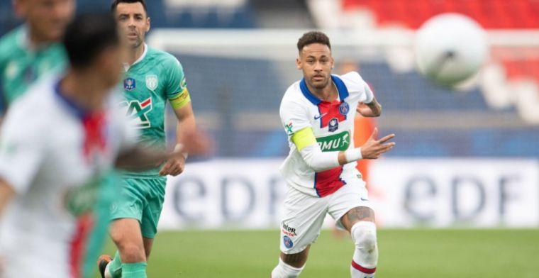 Brazilië-bondscoach hoopt Neymar te overtuigen: 'Hij is onze belangrijkste speler'