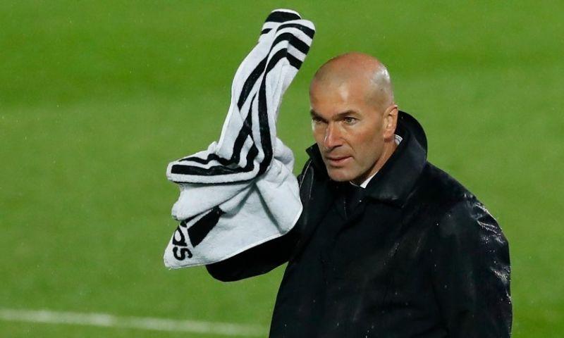 Afbeelding: Zidane niet blij met Spaanse media: 'Is opeens alsof we een slecht elftal zijn'