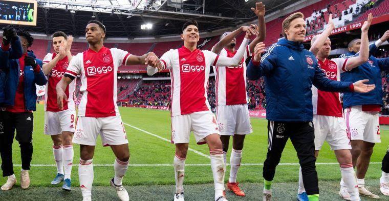 Ajax 'gooit beuk erin': 'Deze jongen voegt zo veel toe aan het spel van Ajax'