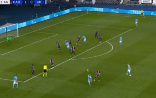 Manchester City maakt gelijk door geluksgoal De Bruyne, of fout van Navas?