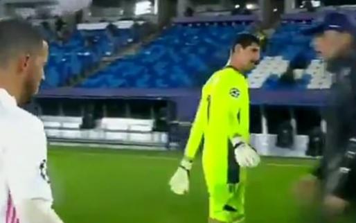 Chelsea-fans lachen zich rot: Tuchel negeert uitgestoken hand van Courtois