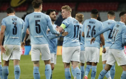 Manchester City recht de rug tegen Paris Saint-Germain en kan CL-finale ruiken