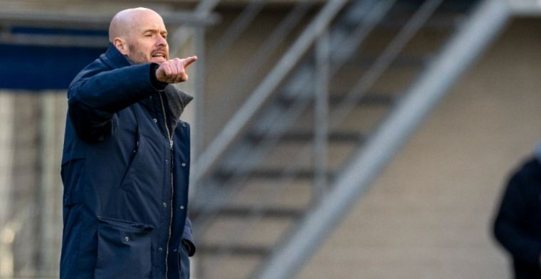 'Ten Hag staat open voor vertrek bij Ajax en gaat in gesprek met Tottenham'