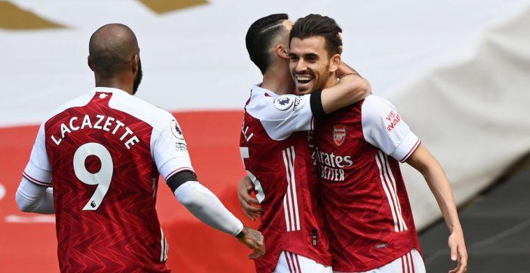 Arsenal moet op zoek naar nieuwe middenvelder: 'Ik heb het niet echt naar m'n zin'