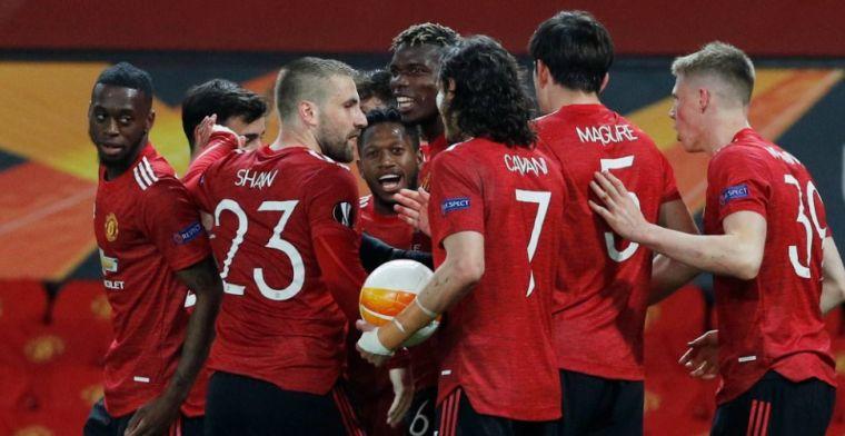 Man United vernedert AS Roma en staat met één been in finale Europa League