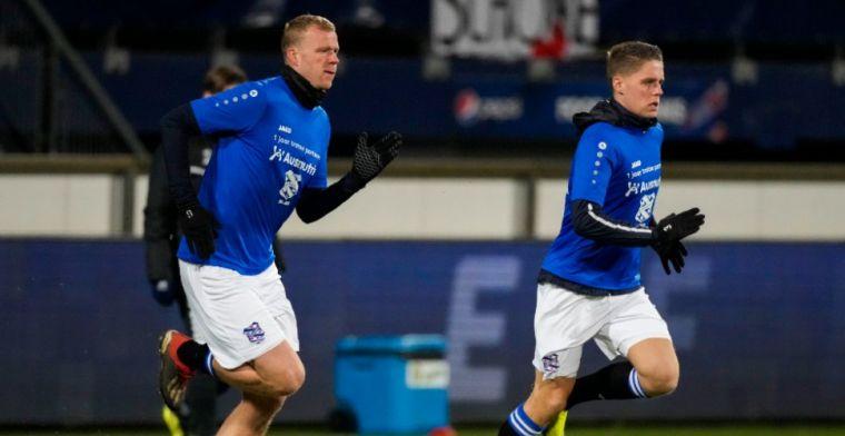 Heerenveen hoopt op KNVB en moet 'Veermannetjes' mogelijk missen tegen PSV