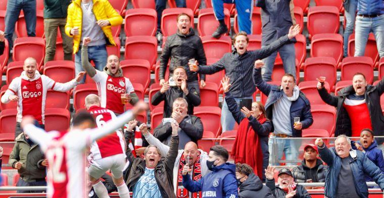 'Ajax en ESPN treffen voorbereidingen voor mogelijk kampioensfeest in Arena'