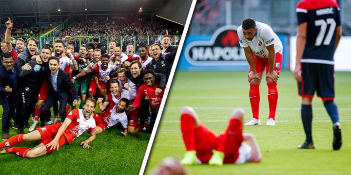 Twaalf jaar play-offs in Eredivisie: dramatische prestaties in Europa én Nederland