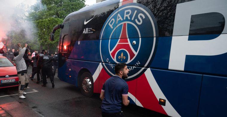 Spelersbus RC Lens beschilderd door 'fans' van PSG, club komt met statement