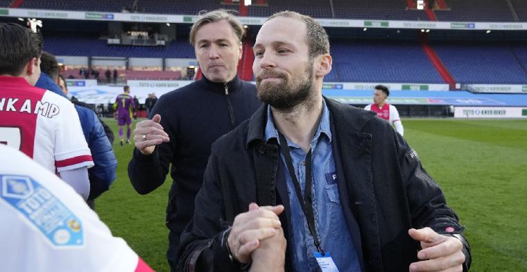 Blind 'geeft signaal af' bij Ajax en hoopt op langer verblijf Gravenberch