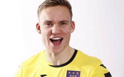Afbeelding: Ex-ploeg feliciteert Verbruggen met Anderlecht-debuut
