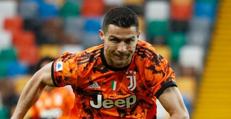 Juventus kruipt op pijnlijke dag door oog van de naald dankzij Ronaldo