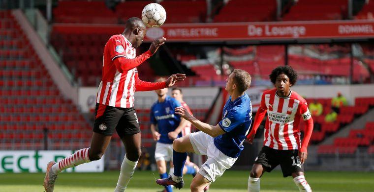 Strijd om plek twee bereikt kookpunt: PSV verslikt zich in Heerenveen