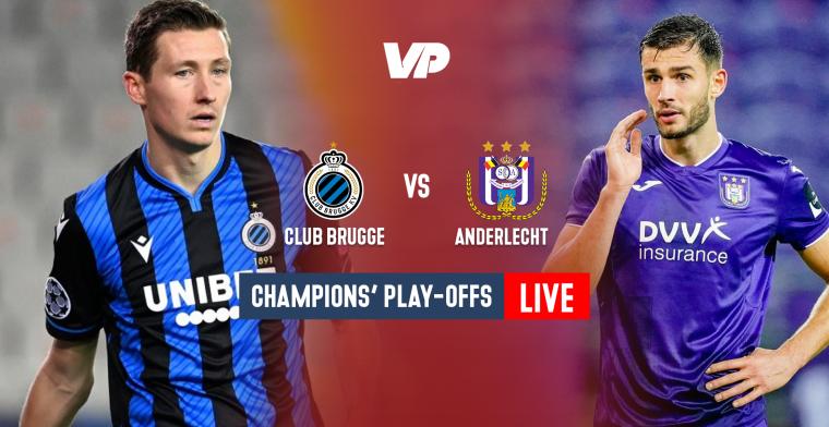 LIVE: Club Brugge maakt in slotfase gelijk en pakt een punt
