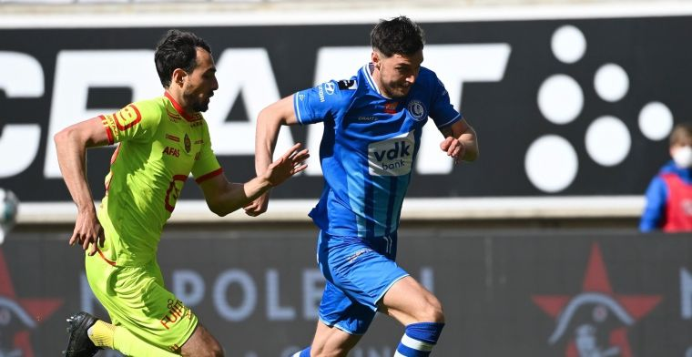KAA Gent en KV Mechelen delen de punten in doelpuntrijke wedstrijd