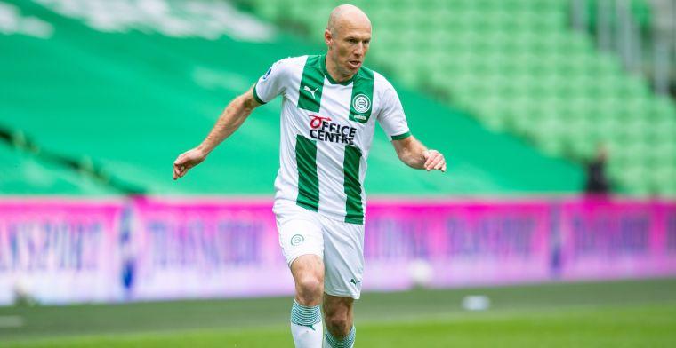 Robben twijfelt over meespelen tegen Emmen en geeft signaal af: 'Dit hoort niet'