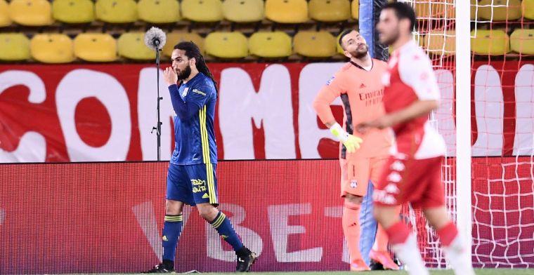 Denayer moet het veld verlaten in kraker bij Monaco: Ja, hij heeft een blessure