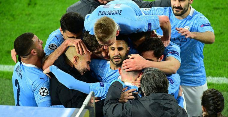 Manchester City verovert zevende landstitel door verlies Manchester United