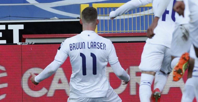 Bruun Larsen: Typisch dat ze op het einde scoren