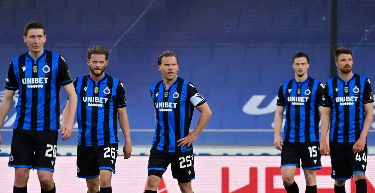 Champagne kan weer even in de kelder: Club Brugge geen kampioen komend weekend