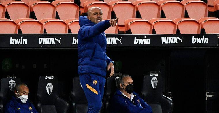 Schreuder strooit met complimenten na Barça-overwinning: 'Dat lieten we weer zien'