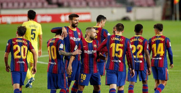 'Messi laat Barça-spelers voor speciale barbecue over vloer van villa komen'