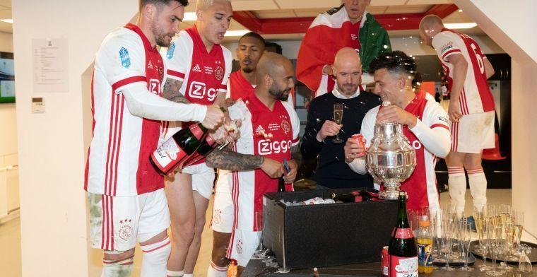 Ten Hag: 'Over vier jaar, maar dat zal ik denk ik niet meer meemaken bij Ajax'