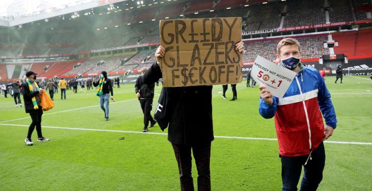 Man United hekelt Old Trafford-bestormers: 'Wilden onze voorbereiding verstoren'