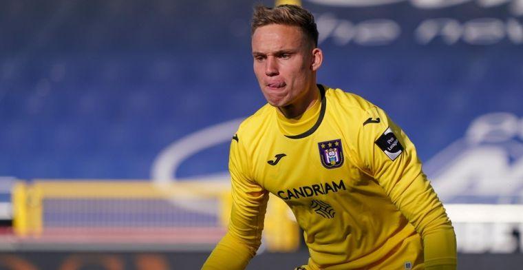 Verbruggen debuteert bij Anderlecht, maar dat was al langer het plan van Kompany