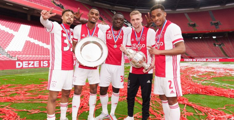 De Mos lyrisch: 'Enorme potentie, gaat het grootste kapitaal van Ajax ooit worden'