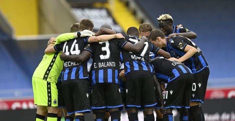 Dat Club Brugge hebben we al sinds februari niet meer gezien