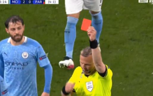 Ook dat nog: gefrustreerde Di María krijgt direct rood van Kuipers