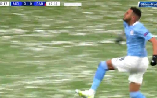 Wat een bal van Ederson, Mahrez zet Man City al vroeg op voorsprong