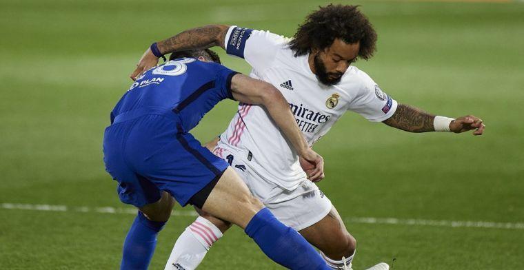 Marcelo dankt oudere vrouw: Real kan beroep doen op Braziliaan tegen Chelsea