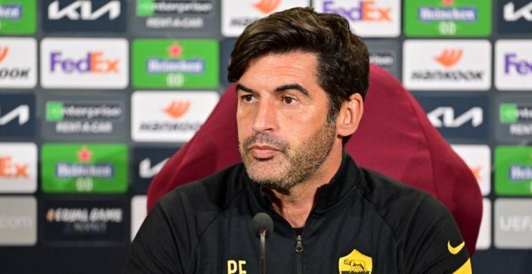 OFFICIEEL: AS Roma breekt met Fonseca, opvolger staat al klaar