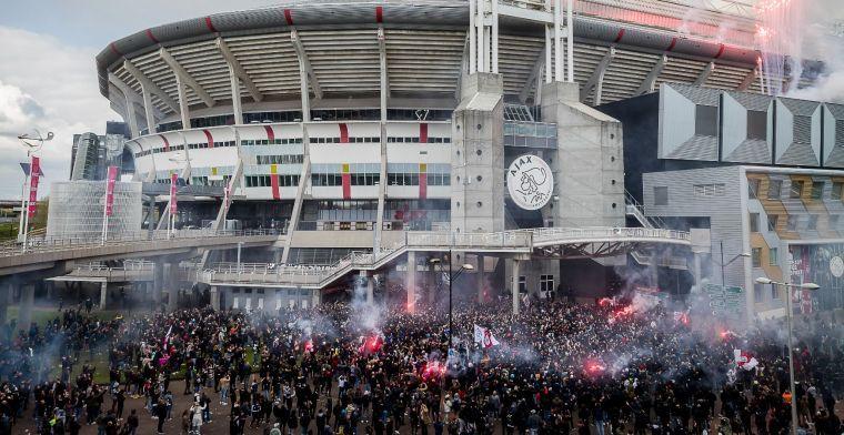 Grapperhaus fel na Ajax-titelfeest bij Arena: 'onbegrijpelijk en verkeerd'